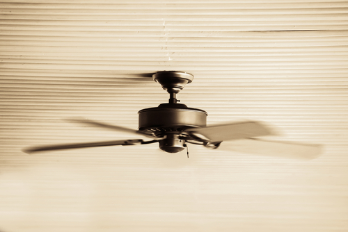 How does ceiling fan cools down a room how ceiling fan work mozeypictures